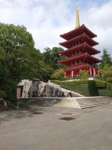 高幡不動尊,五重塔,gozyunotou,Five-storied pagoda