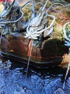 箱根神社のお水